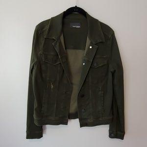 Articles of Society dark green denim jacket